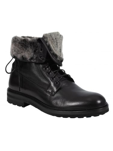 PER LA MODA leather boots M580 black