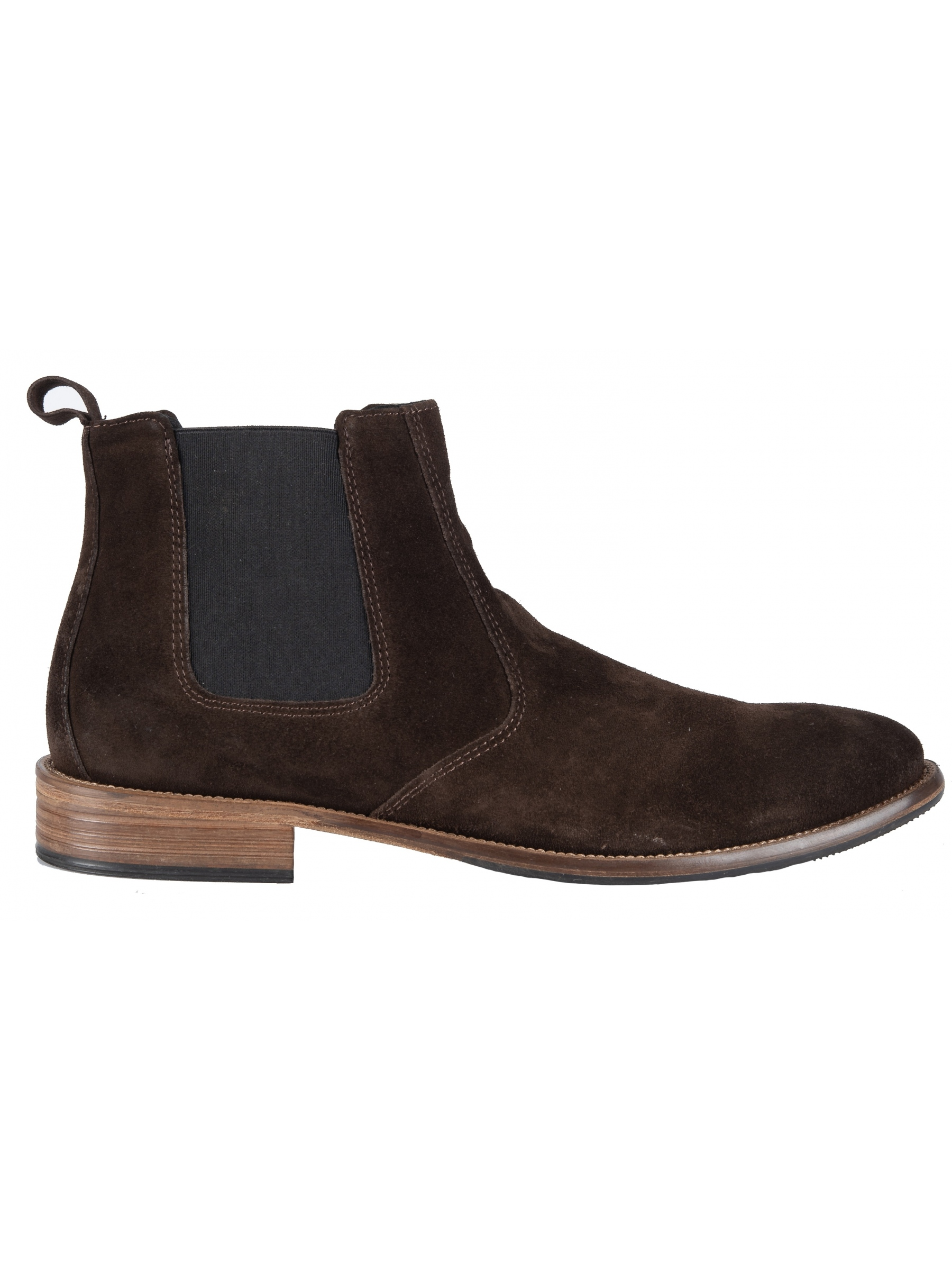 YES LONDON chelsea boot ST40-CAMOSCIO brown