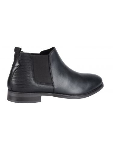HARRY BENETT leather boots chelsea 60115 black