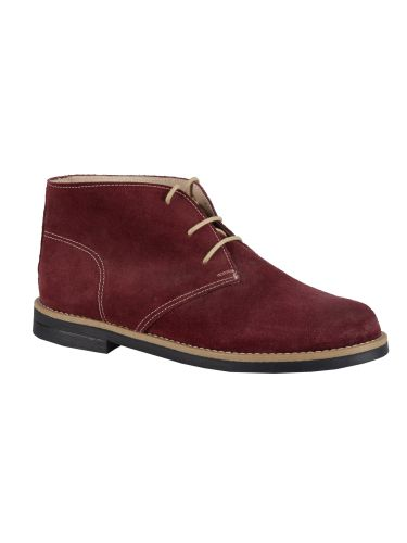 Guya suede boot 167 burgundy