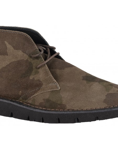 Philippe Lang desert boots 1519/CAM/425 military