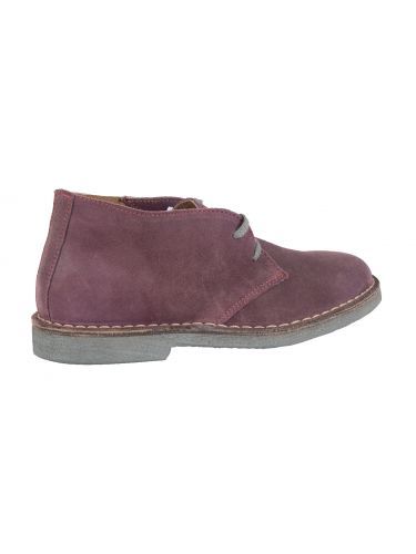 Wally Walker low boot Chukka 005 purple