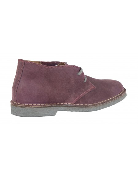 Wally Walker low boot Chukka 005 purple