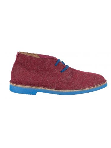 Wally Walker low boot Chukka 301 burgundy red