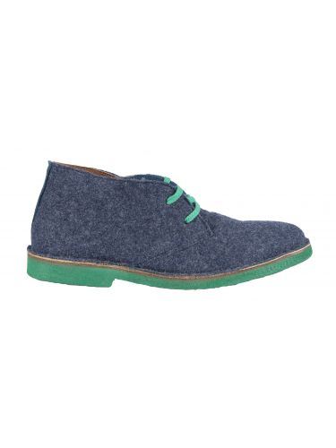 Wally Walker low boot Chukka 301 blue