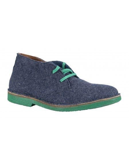 Wally Walker low boot Chukka 301 blue
