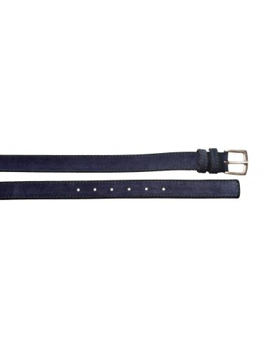 Gad suede belt S496/1 blue