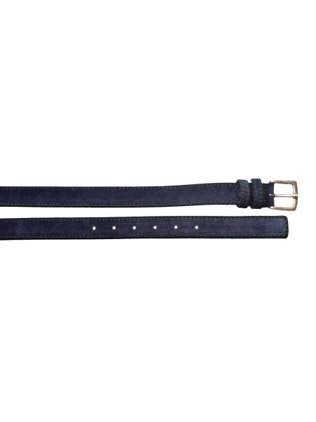 Gad suede belt S496/1 blue