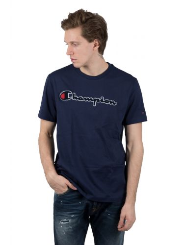 CHAMPION t-shirt 212946-BS536 μπλε