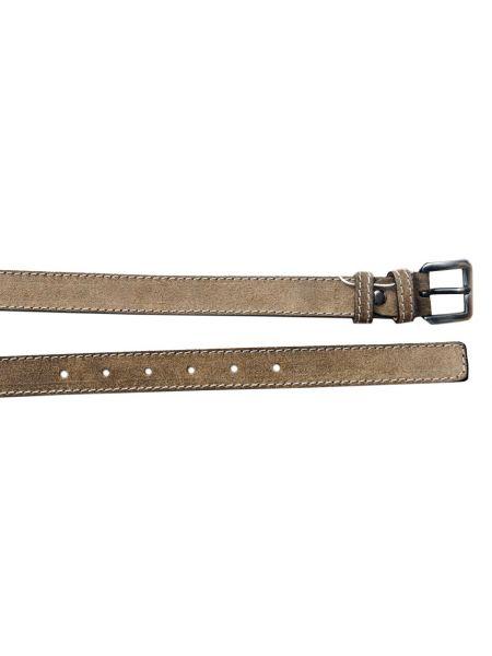 Gad suede belt s497/1 beige