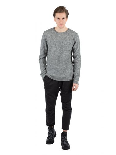 TIGHA wool sweater BENT 104694 grey
