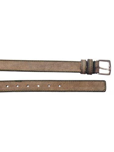 Gad suede belt S496/1 beige