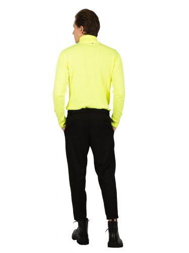 BESILENT MAN chino παντελόνι BSPA0350 μαύρο