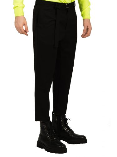 BESILENT MAN chino pants BSPA0350 black