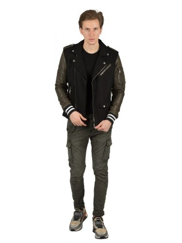 BE EDGY leather jacket BELOPEZ M19148 black