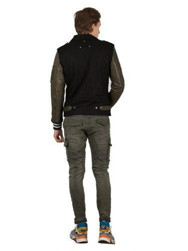 BE EDGY δερμάτινο μπουφάν BELOPEZ M19148 μαύρο