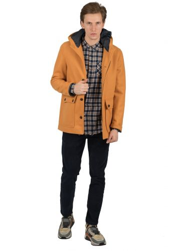 GIANNI LUPO coat GN21200 mustard