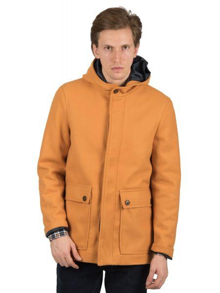 GIANNI LUPO παλτό GN21200 μουσταρδί