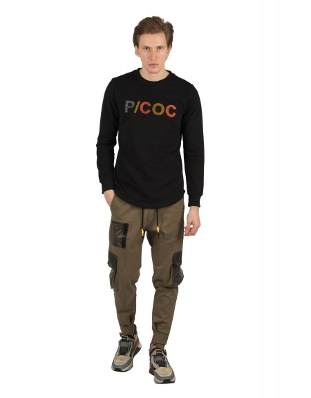 P/COC μπλούζα P917 μαύρη