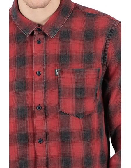 TIGHA shirt TOMA 104714 red-black