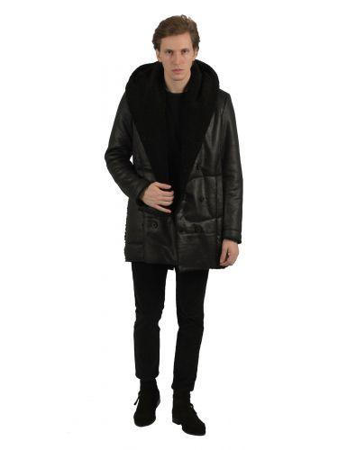 XAGON MAN coat PLAWER black