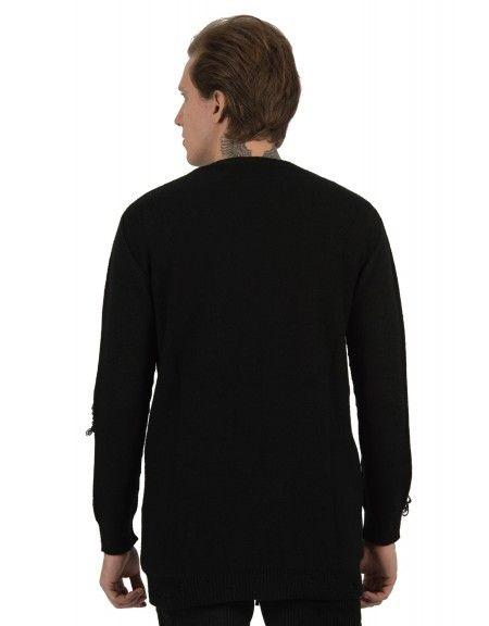 XAGON MAN πουλόβερ GAB478 μαύρο