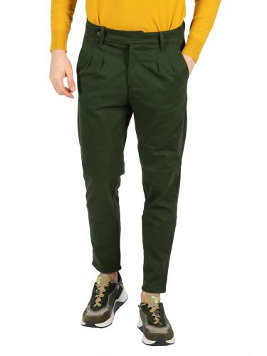 BESILENT MAN chino trouser BSPA0321 green