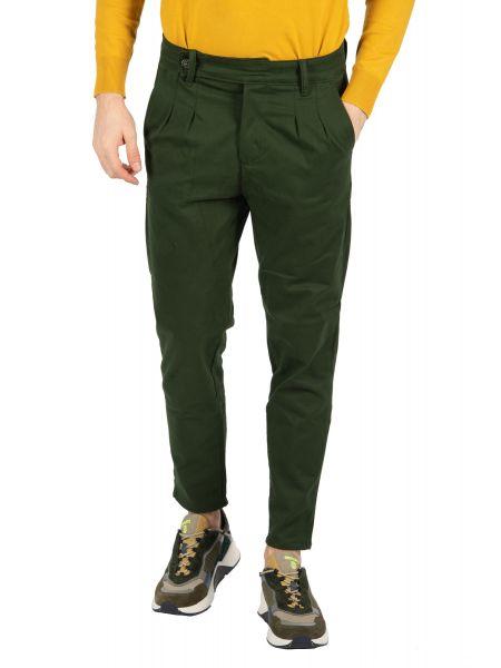 BESILENT MAN chino παντελόνι BSPA0321 πράσινο