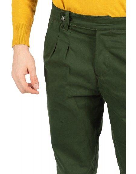 BESILENT MAN chino trouser BSPA0321 green