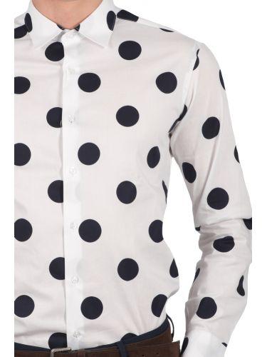 TAKESHY KUROSAWA πουκάμισο 82228 λευκό