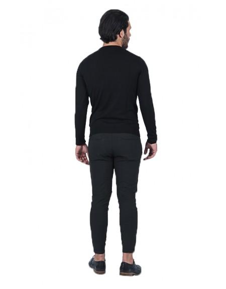 BESILENT MAN blouse BSMA0246 black