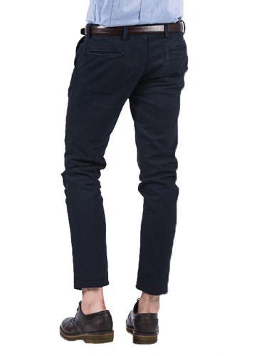 BESILENT MAN chino pants BSPA0256 blue