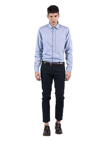 BESILENT MAN chino παντελόνι BSPA0256 μπλε