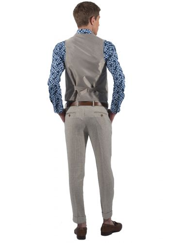 BESILENT MAN vest BSPC0022 beige