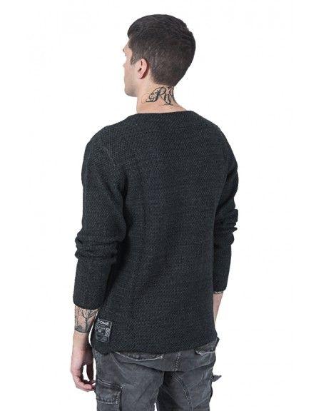 GIANNI LUPO blouse BW590 grey