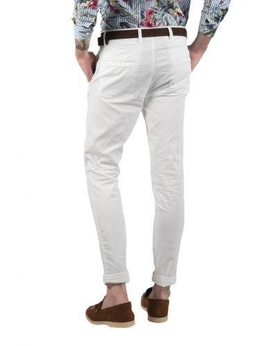 BESILENT MAN chino παντελόνι BSPA0232 λευκό