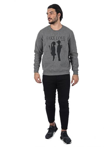 I AM BRIAN sweater F140/155 grey