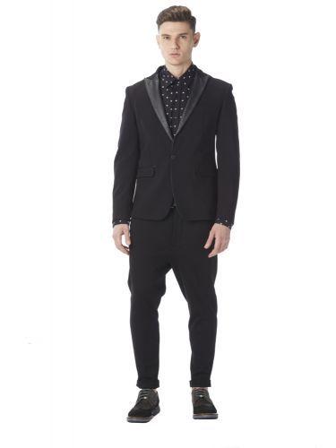 I AM BRIAN σακάκι GIA20/148 μαύρο
