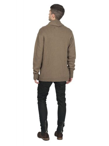 THE PROJECT knitted jacket H1KN351MW brown