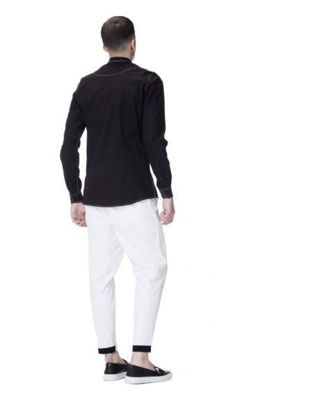 P/COC πουκάμισο P619 μαύρο