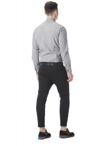 PAPILIO GARAMAS shirt PG-600/1080 grey white