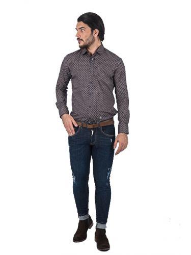 PAPILIO GARAMAS shirt PG-600/2623 blue