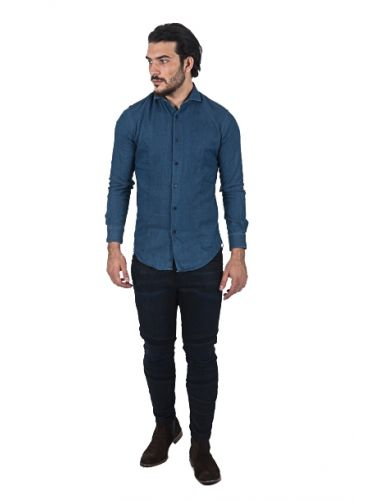 PAPILIO GARAMAS πουκάμισο PG-600/2654 μπλε