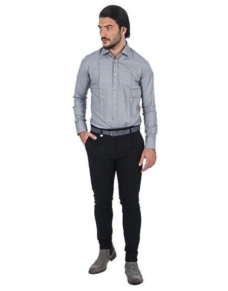 PAPILIO GARAMAS shirt PG-600/2656 grey