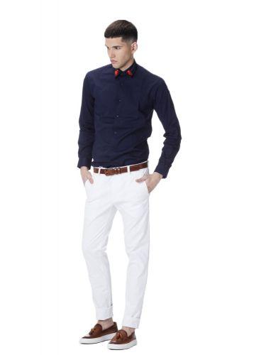 PAPILIO GARAMAS shirt PGBR-400/NAVY blue marine