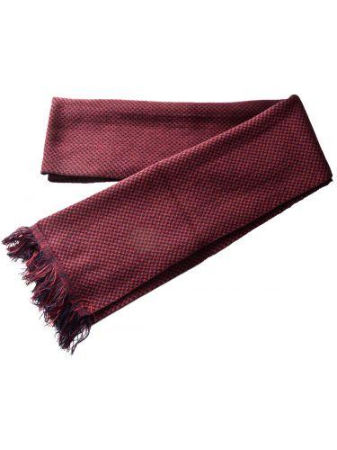 Gad scarve PL043 blue-burgundy