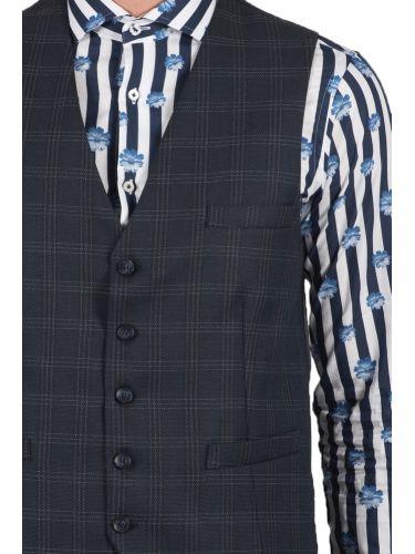 GUARDAROBA vest PGL-118/01 blue