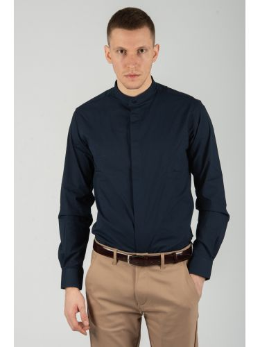 GUARDAROBA shirt PG-605/NAVY blue marine