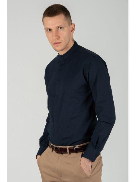 GUARDAROBA πουκάμισο PG-605/NAVY μπλε μαρίν