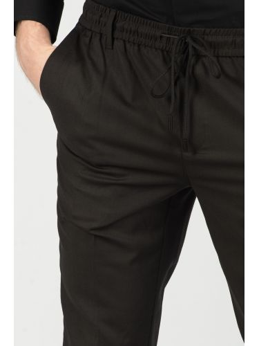 GABBA chino pants PHILIP BLACK PANTS P4433 black